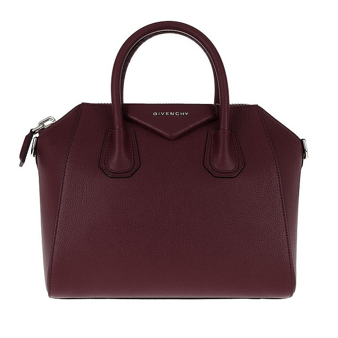fb9ea4ff099 Givenchy Antigona Small Tote Aubergine at FORZIERI