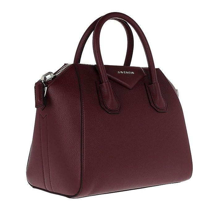 67d6e2322f Givenchy Antigona Small Tote Aubergine at FORZIERI
