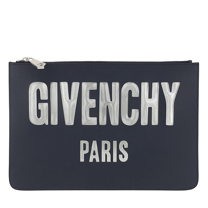 Envelope Iconic Prints Pouch Night Blue - Givenchy