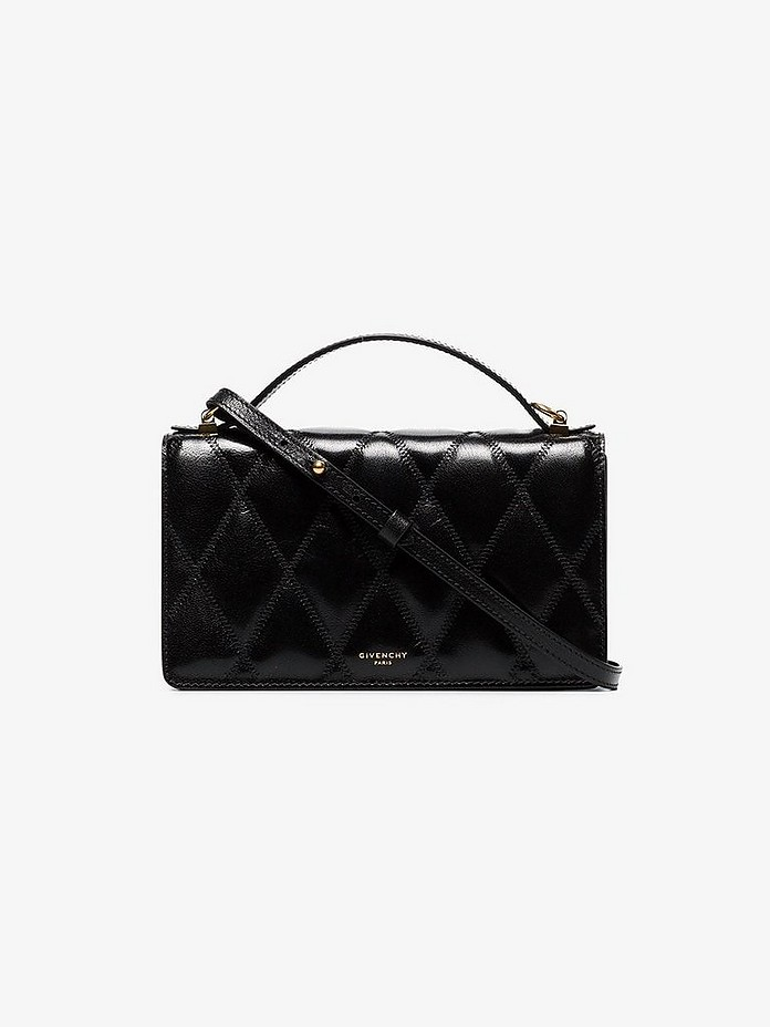 Black quilted leather mini bag - Givenchy