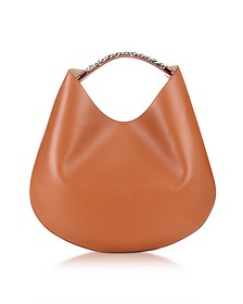 Small Infinity Leather Hobo Bag w/Chain - Givenchy
