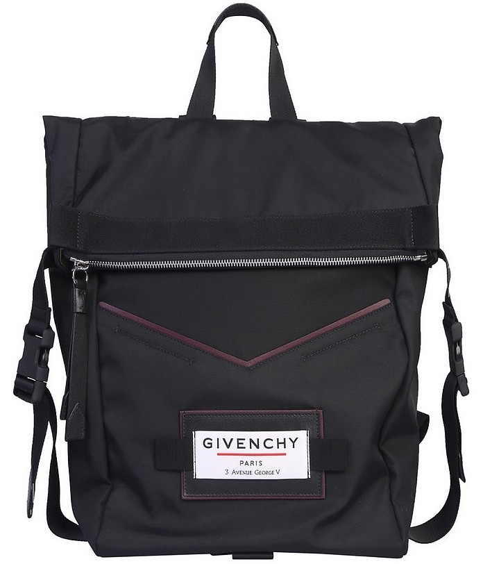 Downtown Black Backpack/Tote - Givenchy