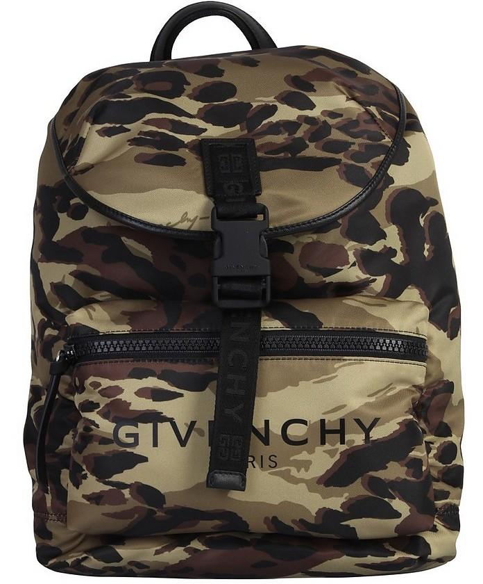 Backpack With Lettering Logo - Givenchy 纪梵希