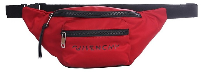Deep Red Signature Belt Bag - Givenchy