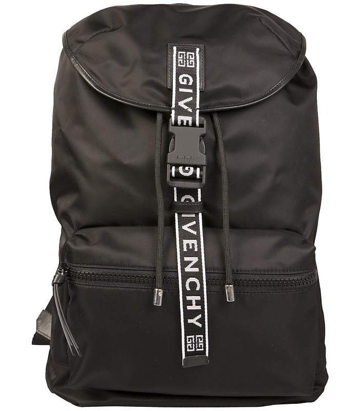 Foldable Nylon Backpack - Givenchy