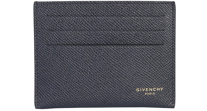 Grained Leather Card Holder - Givenchy