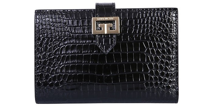 Medium Gv3 Bifold Leather Wallet - Givenchy