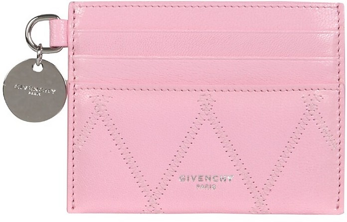Gv3 Quilted Leather Card Holder - Givenchy