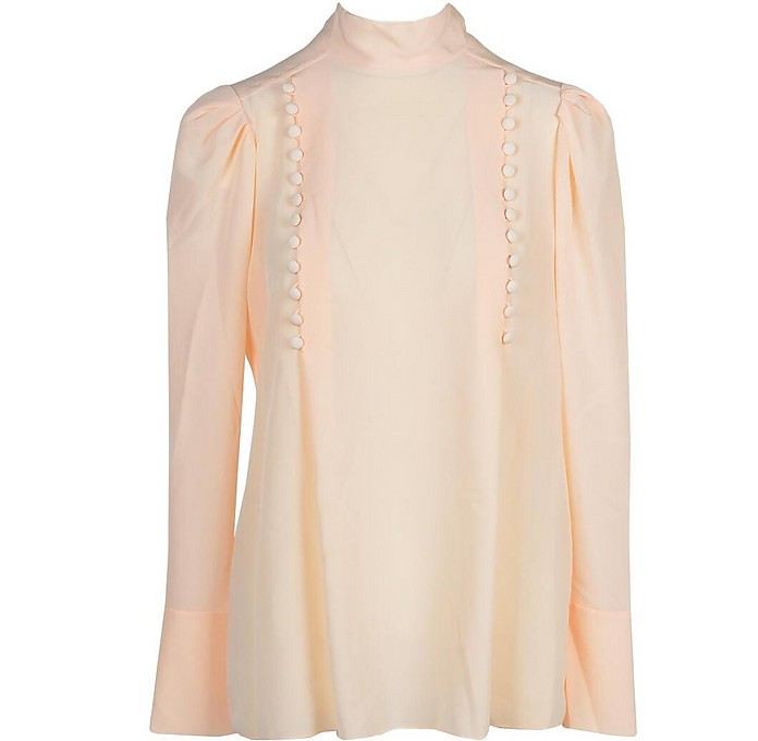 Women's Salmon Pink Blouse - Givenchy