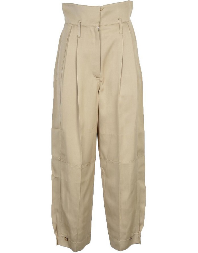 Women's Beige Pants - Givenchy