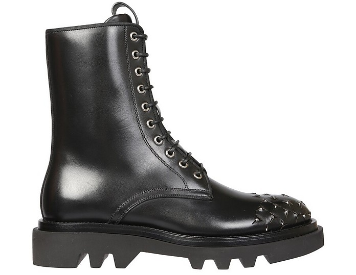 Combat Boots With Studs - Givenchy