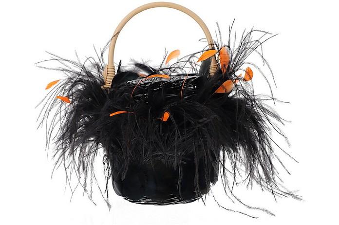 Black Feathers Tweety Bag - Gatti
