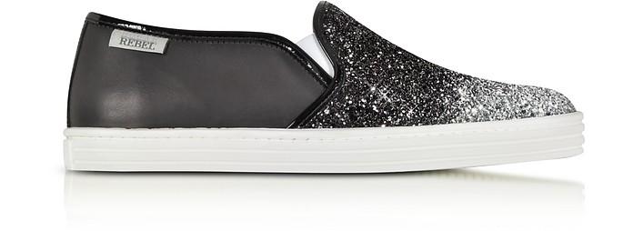 Glitter Slip-on Sneaker  - Hogan Rebel