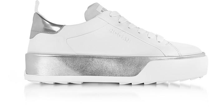 hogan sneakers argento