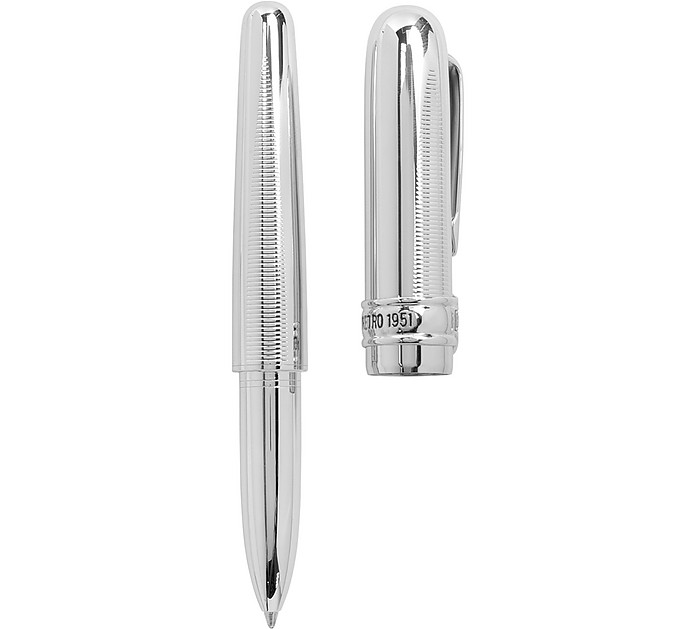 BlackLine Chrome HD Rollerball Pen - Harley Davidson