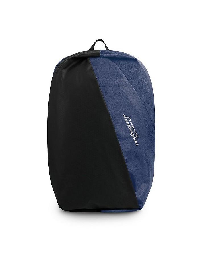 Galleria Color Block Nylon Men's Backpack - Lamborghini Automobili