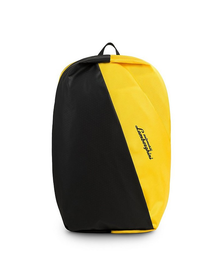 Galleria Color Block Nylon Men's Backpack - Lamborghini Automobili