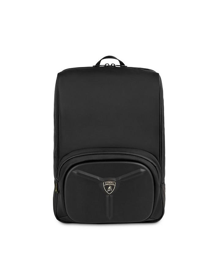 LMBG3 Black Nylon Men's  Backpack - Lamborghini Automobili