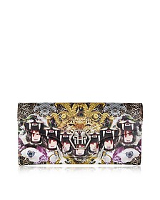Crazy Jungle Leather Roar Clutch
