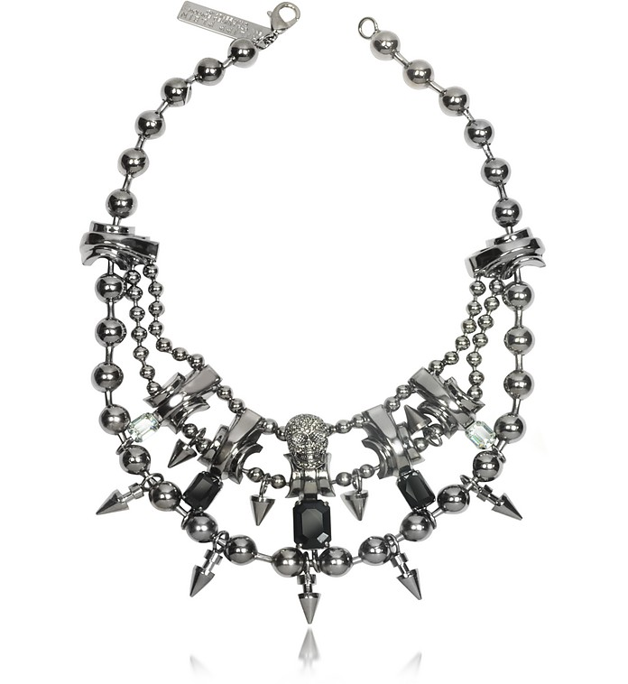 Conspicuous Metal Necklace - Philipp Plein