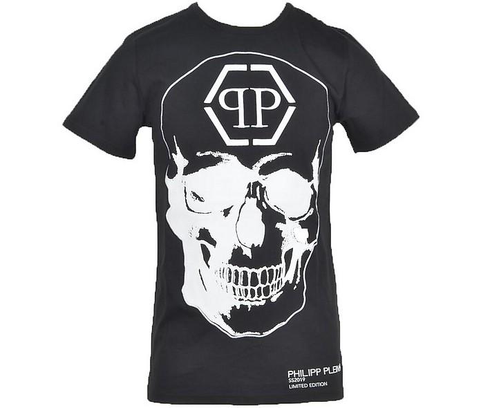 Men's Black T-Shirt - Philipp Plein