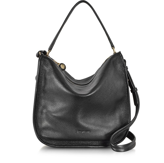 ff04cfb55c1 See by Chloé Bluebell Black Leather Hobo Bag at FORZIERI