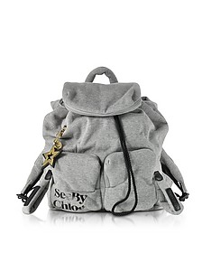 Joy Rider Gray Viscose Backpack - See by Chloé