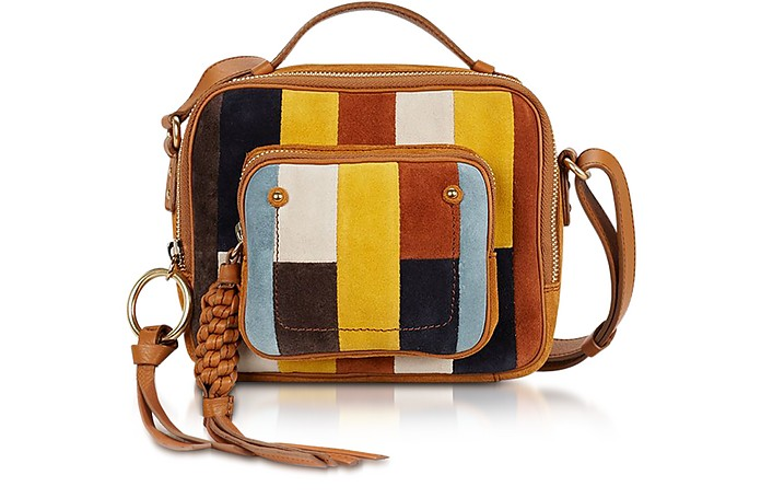 Patti Passito & Multicolor Suede Crossbody Bag  - See by Chloé