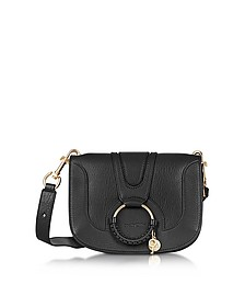 Hana Black Leather Crossbody Bag - See by Chloé