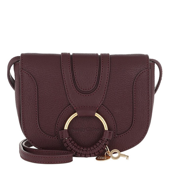 Hana Mini Crossbody Bag Obscure Purple - See by Chloé