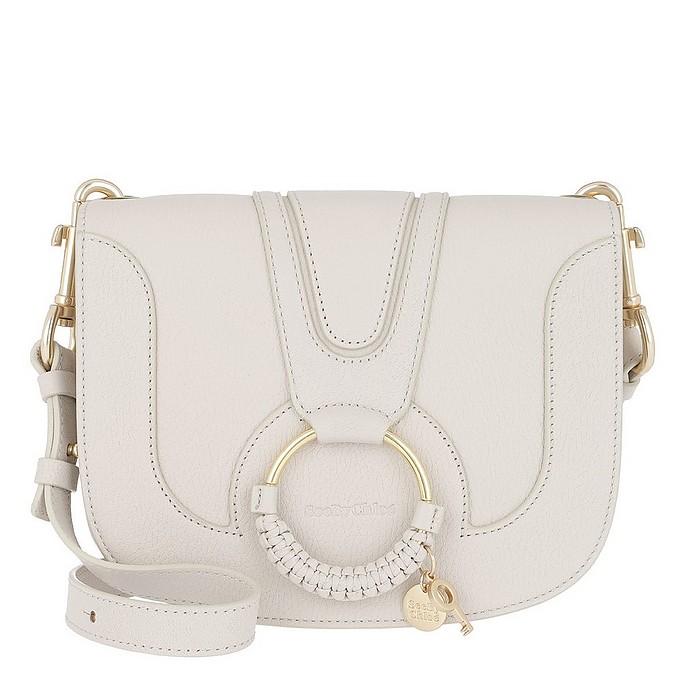 Hana Medium Shoulder Bag Cement Beige - See by Chloé