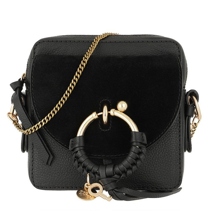 Joan Camera Bag Leather Black - See by Chloé