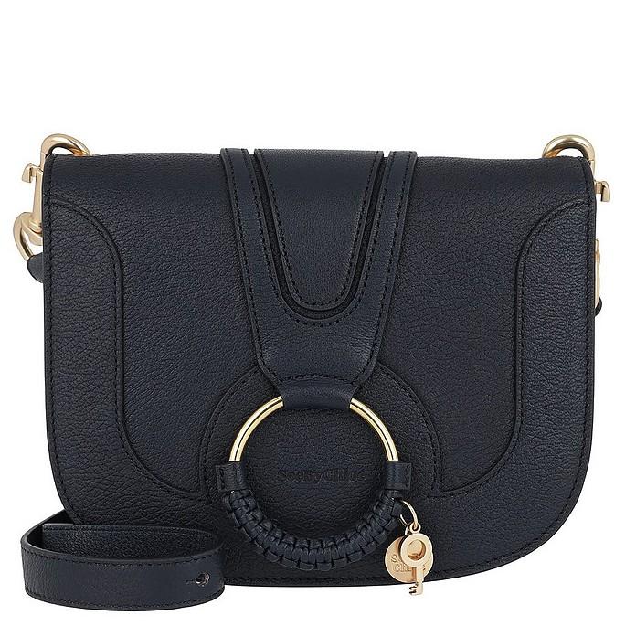 Hana Medium Shoulder Bag Ultramarine - See by Chloé