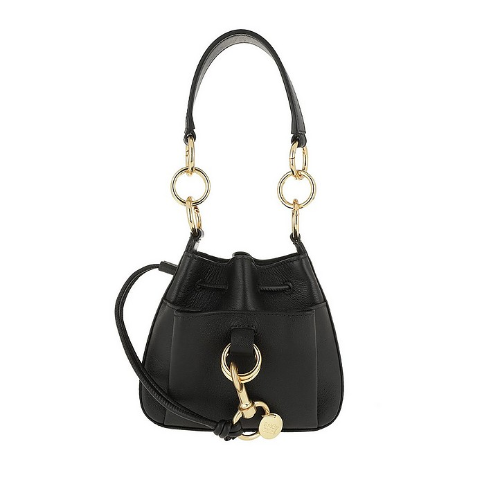 Tony Small Shoulder Bag Black - See by Chloé