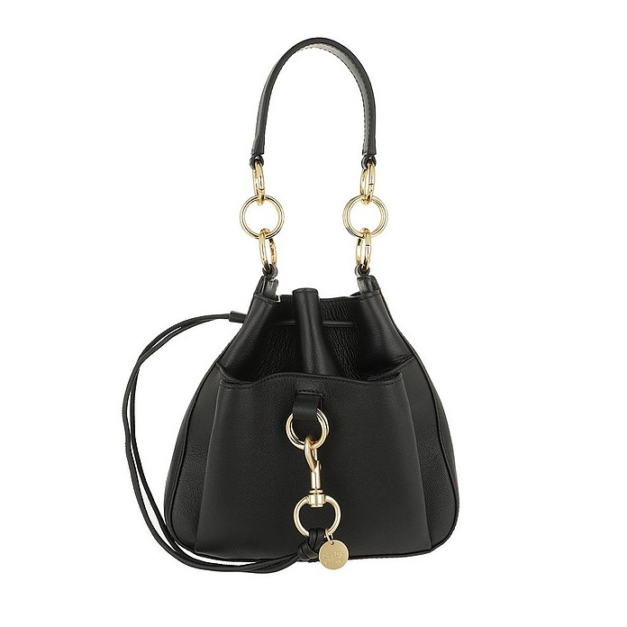 Tony Medium Shoulder Bag Black - See by Chloé