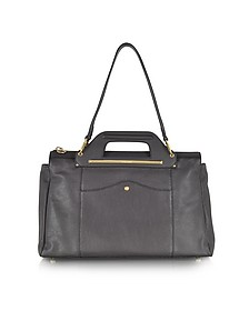 Debbie Grained Leather Handbag