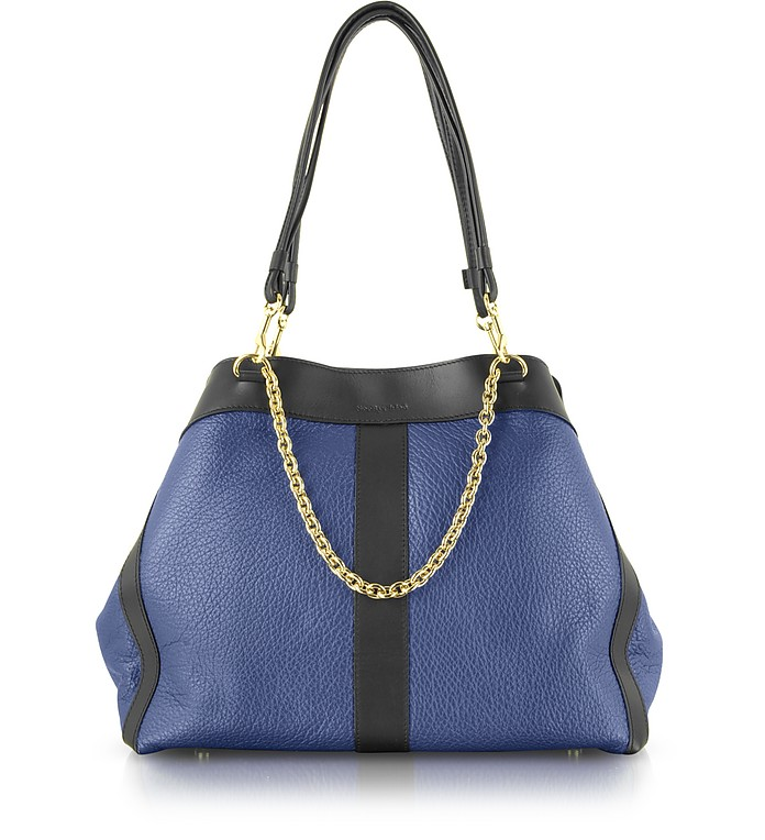 Beki Medium Leather Tote - See by Chloé