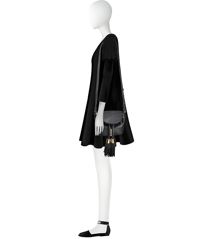 cf4a47655414f Vicki Leather Mini Bucket Bag w/Tassels - See by Chloé. €315,00 Actual  transaction amount