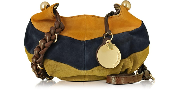 Madie Multicolor Suede Small Crossbody Bag - See by Chloé