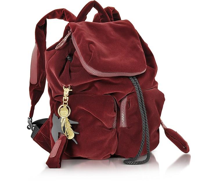 e5a1fe5143e7 Joy Rider Grape Velvet Small Backpack - See by Chloé. £230.04 Actual  transaction amount