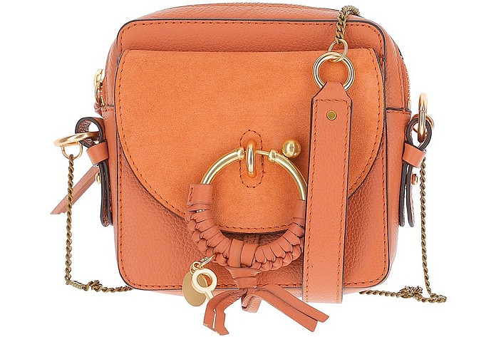 Rust Leather Joan Camera Bag - See by Chloé