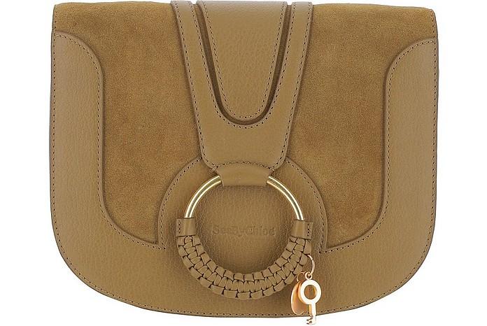 Sand Leather Hana Shoulder Bag - See by Chloé