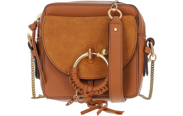 Joan Brown Leather Camera Bag - See by Chloé