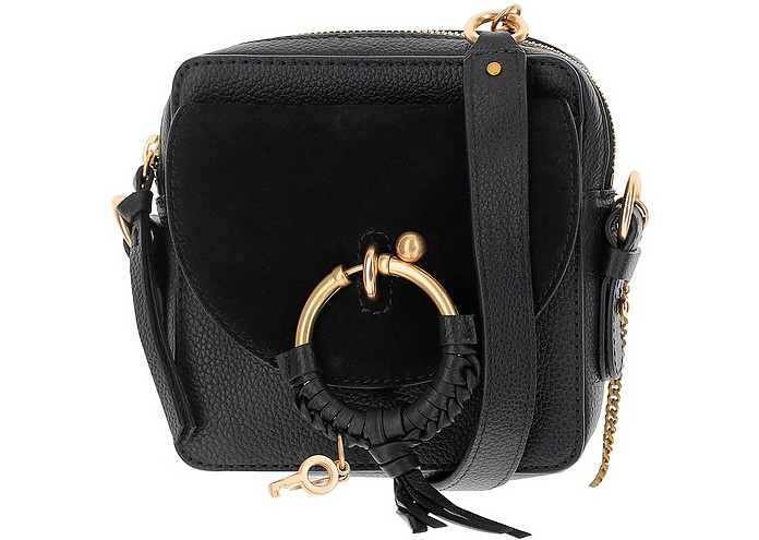 Black Joan Leather Camera Bag - See by Chloé