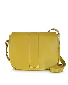 Daisie Bamboo Leather Crossbody Bag