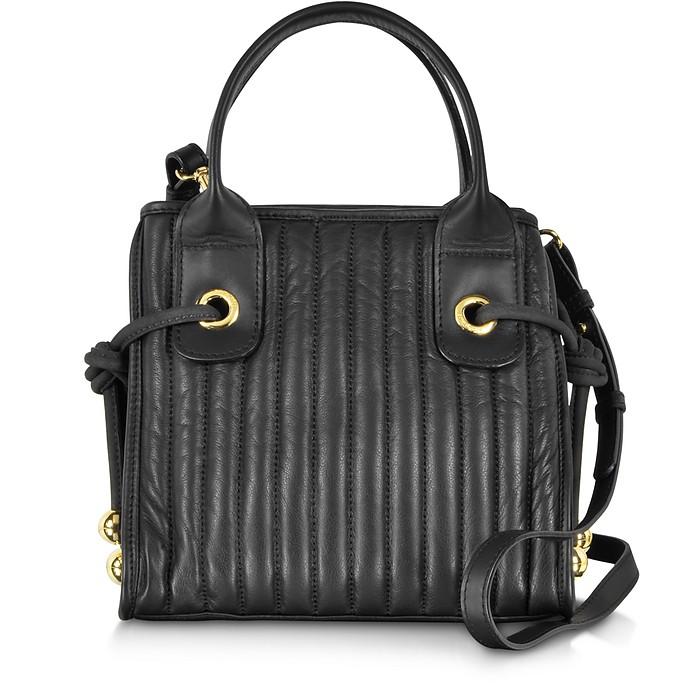 Sheen Black Leather Small Handbag - See by Chloé