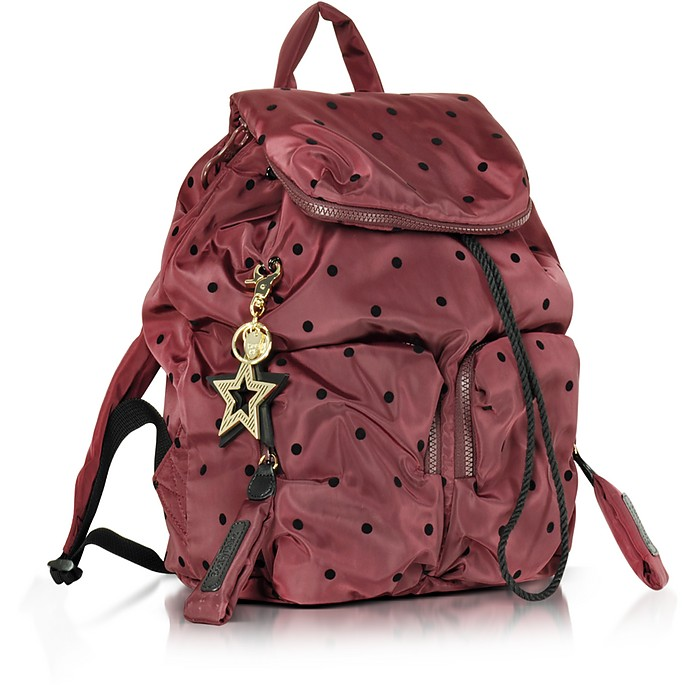 Joy Rider Grape and Black Dots Nylon Backpack - See by Chloé.  278.00  Actual transaction amount 5555905d8539a