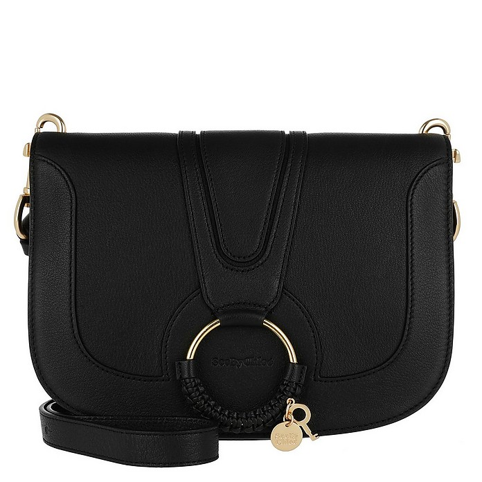 Hana Crossbody Leather Black - See by Chloé