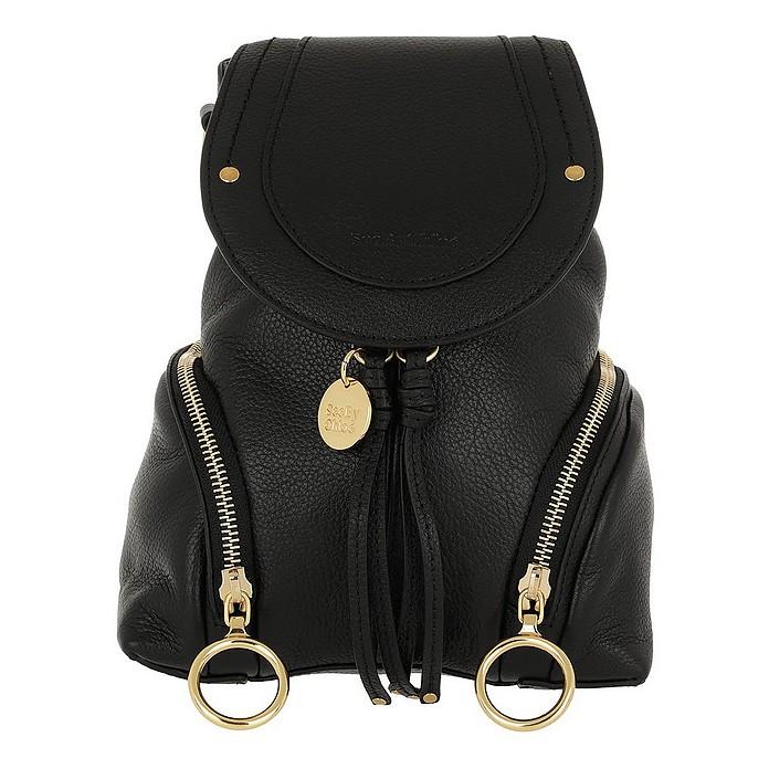 a83987d16c Olga Backpack Small Calfskin Black