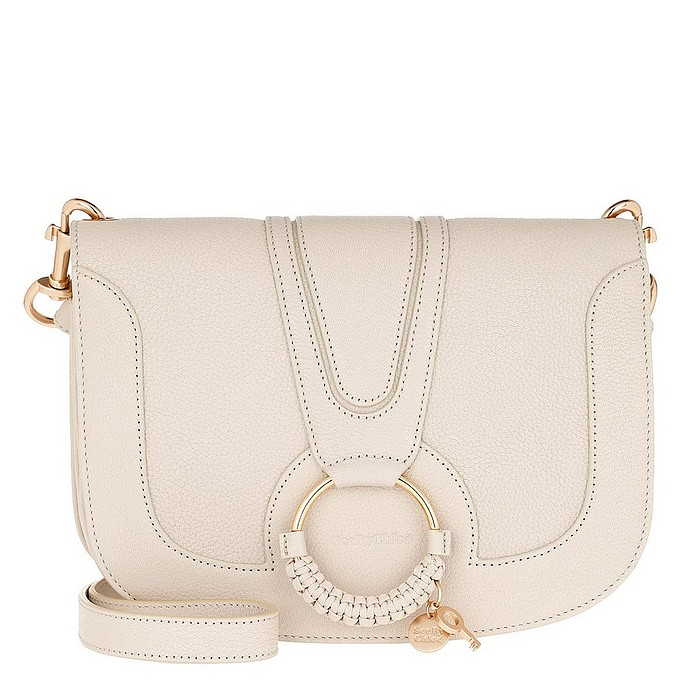 Hana Crossbody Leather Cement Beige - See by Chloé
